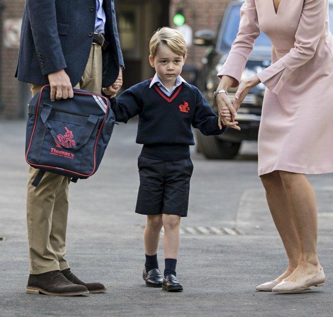 В Лондоне пытались похитить принца Джорджа - фото 73998