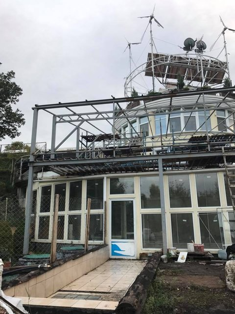 Молнии повредили дом Русланы Лыжичко в Киеве - фото 75444