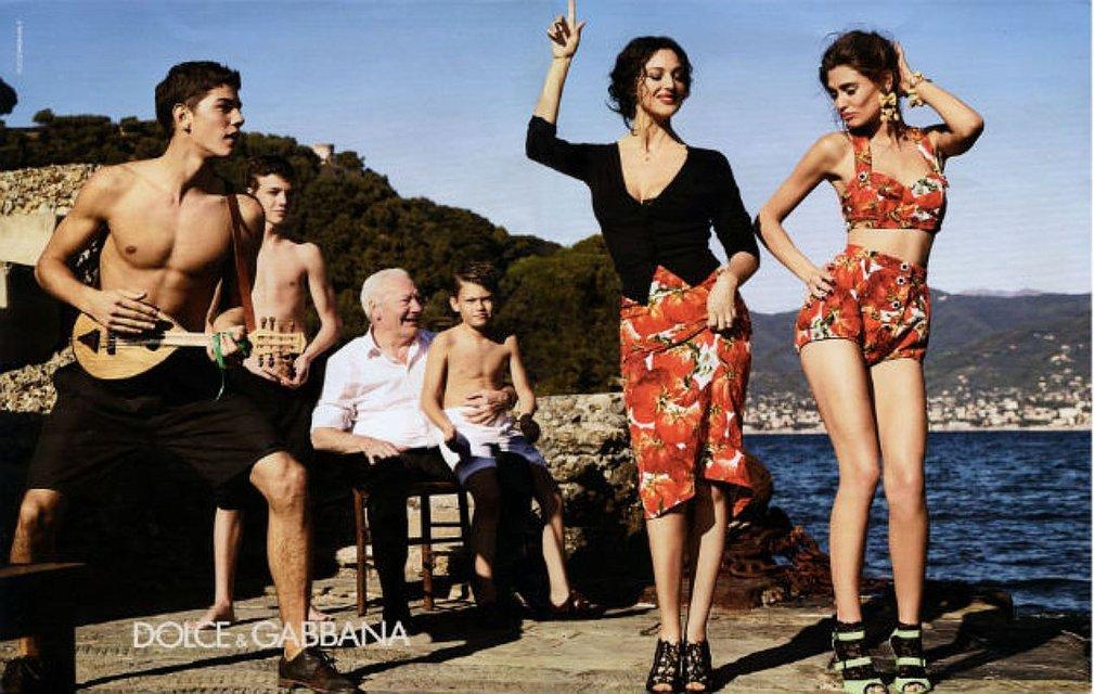 Моники Беллучи для Dolce&Gabbana - фото 77655