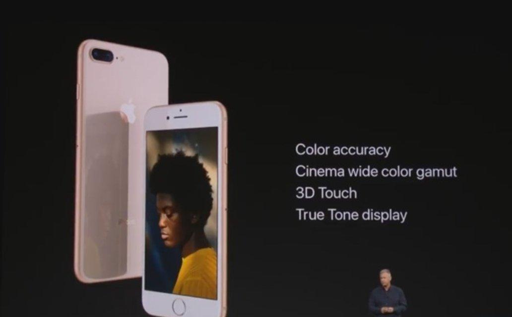 Apple презентует новые iPhone 8 и iPhone 8+ - фото 73454