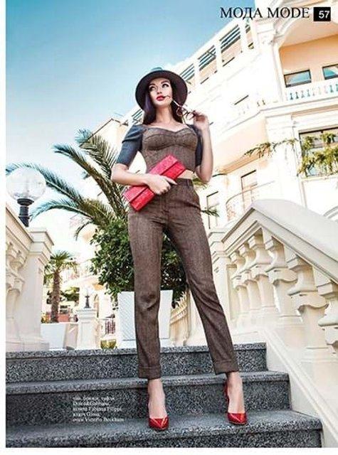Фото модели Dior Натальи Кошель до аварии - фото 72562