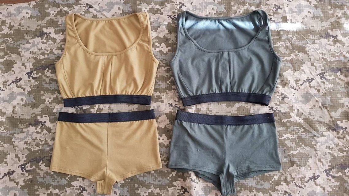 В соцсетях обсуждают фото образцов женского белья для ВСУ - фото 77564