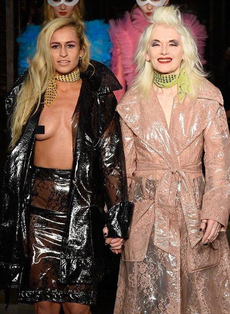 Элис Деллал произвела фурор на открытии Недели моды в Лондоне - фото 74237
