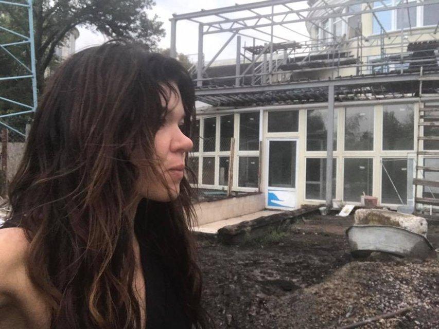 Молнии повредили дом Русланы Лыжичко в Киеве - фото 75443