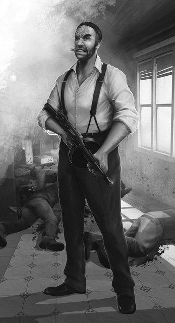Игра престолов: Пес Сандор Клиган в стиле мира гангстеров - фото 72704