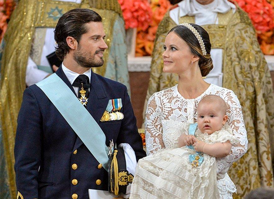 У принца Швеции Карла Филиппа и принцессы Софии родился второй ребенок - фото 70781