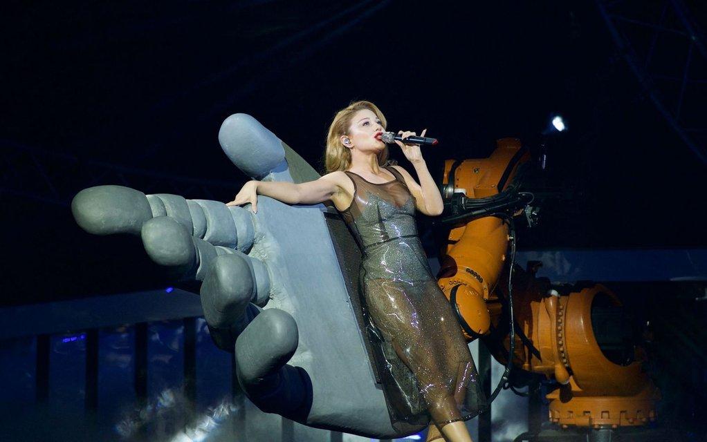 Тина Кароль в сексуальном образе спела в финале Мисс Украина-2017 - фото 72726
