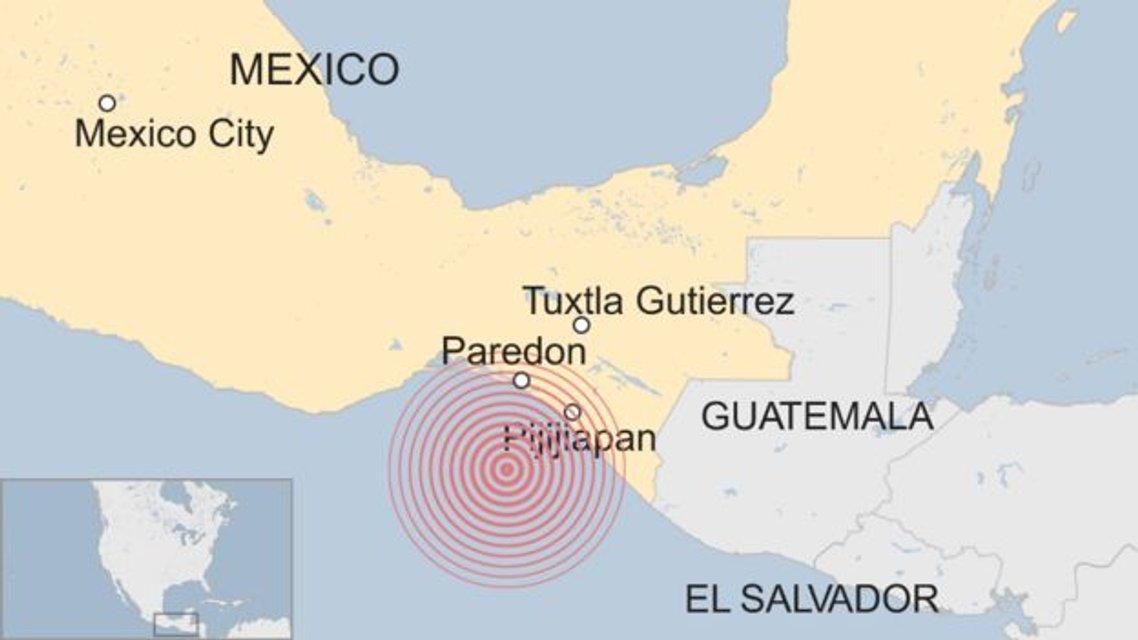 Возле берегов Мексики произошло сильное землетрясение (фото, видео) - фото 72325