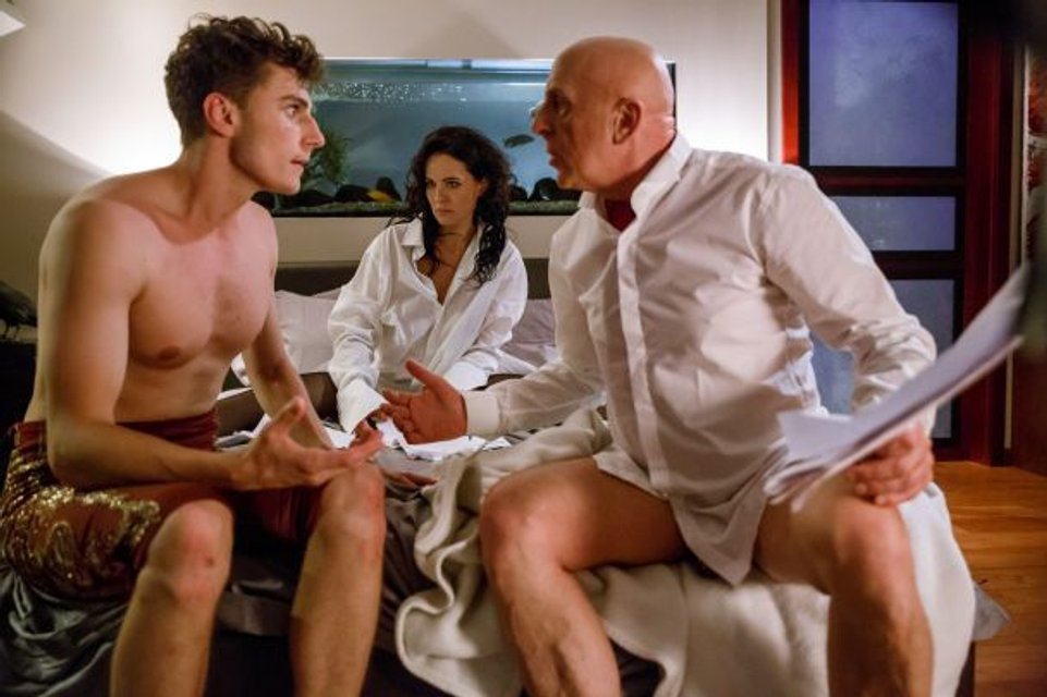 Даша Астафьера разделась для съемок секс-комедии