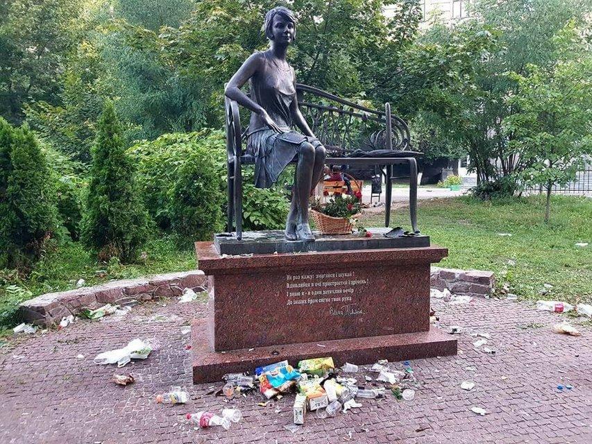 Из цивилизованного и чистого парка сделали мусорк - фото 70770