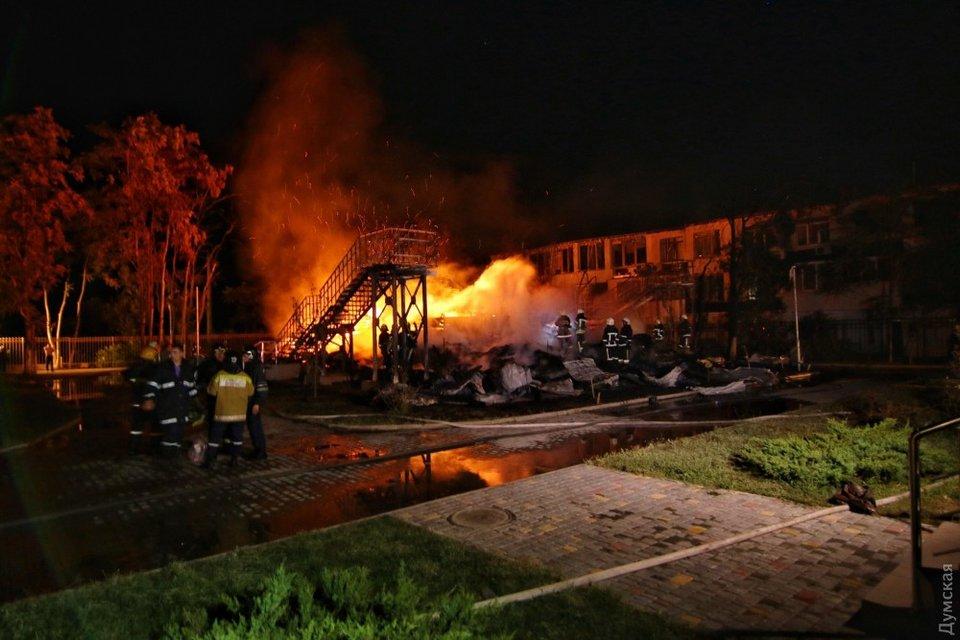 """Пожар в детском лагере """"Виктория"""" - фото 74342"""