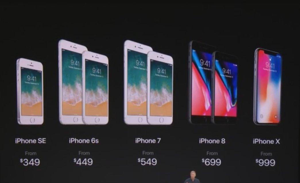 С ценами на Iphone 8 и Iphone Х в Украине до конца не определились - фото 73659