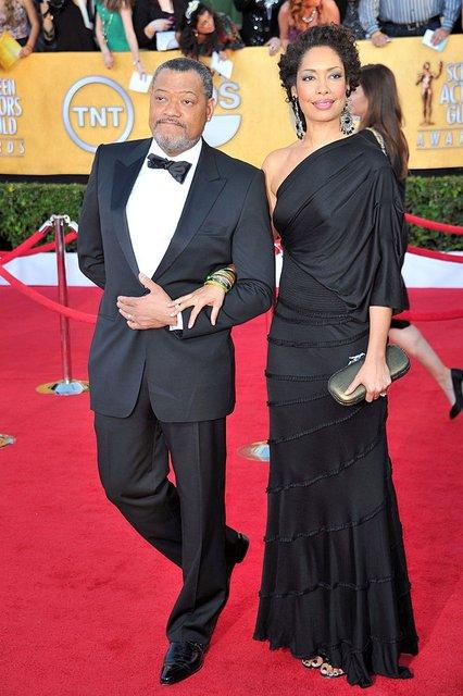 Лоуренс Фишборн и Джина Торрес разводятся после 14 лет брака - фото 75527