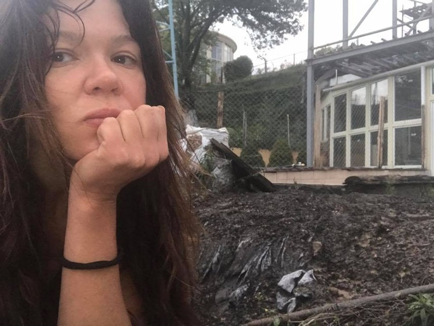 Молнии повредили дом Русланы Лыжичко в Киеве - фото 75442