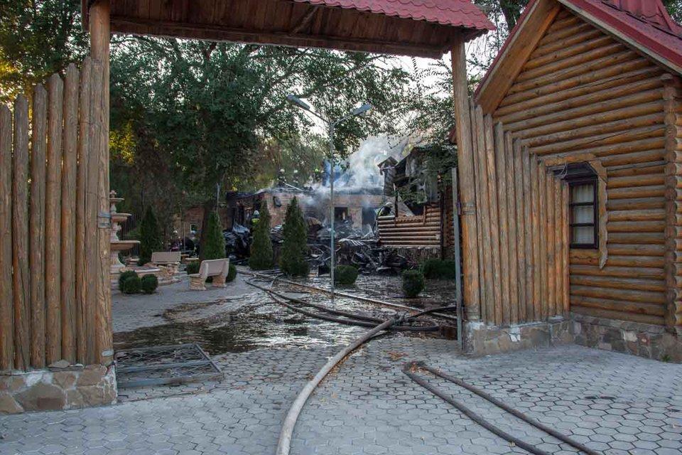 Пожар в Днепре - фото 75800