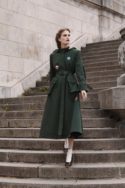 Алла Костромичева снялась для новой коллекции осень-зима 2017/2018 - фото 76868