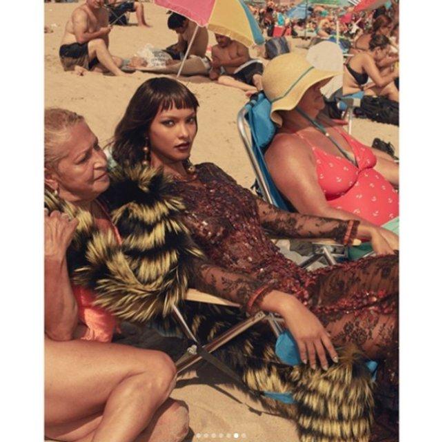 Лаис Рибейро поразила красотой в фотосете IRIS covet book  - фото 75119