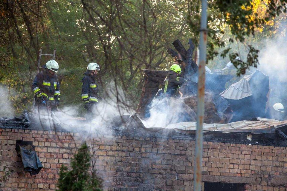 Пожар в Днепре - фото 75801