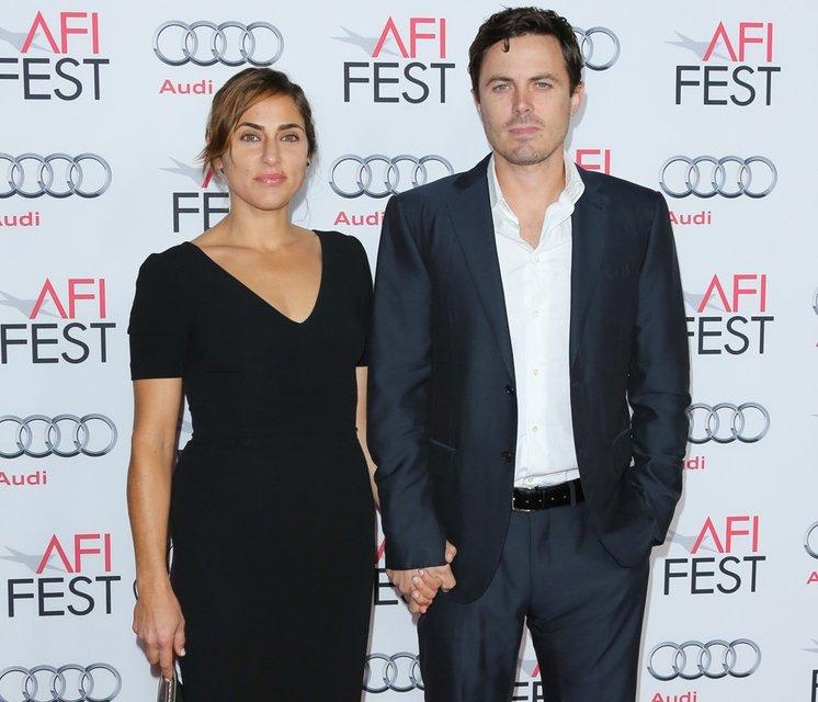 Кейси Аффлек с бывшей женой Саммер Феникс - фото 74543