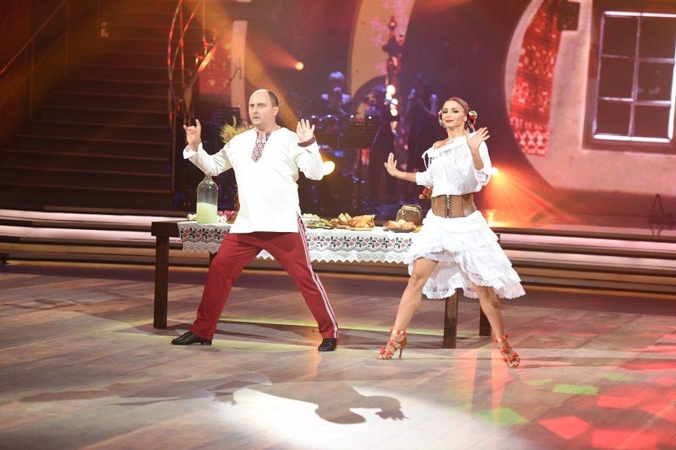 Танці з зірками 2017: Юрий Ткач и Илона Гвоздева - фото 75544