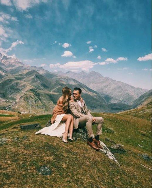 Ведущий Александр Скичко и Елизавета Юрушева устроили себе свадебный экстрим (фото) - фото 71984