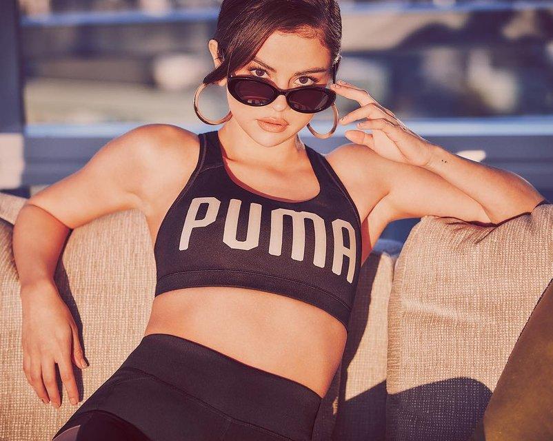Селена Гомес стала лицом спортивной марки Puma - фото 74853