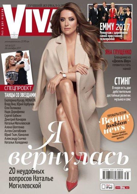 Похудевшая Могилевская снялась обнаженной в одном пальто - фото 76615