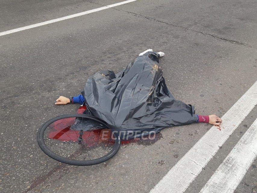 В Киеве джип насмерть сбил велосипедиста - фото 76185