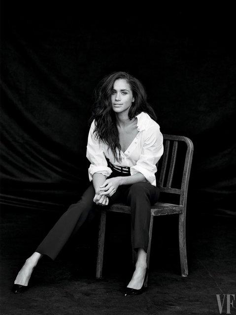 Меган Маркл впервые прокомментировала роман с принцем Гарри - фото 71749