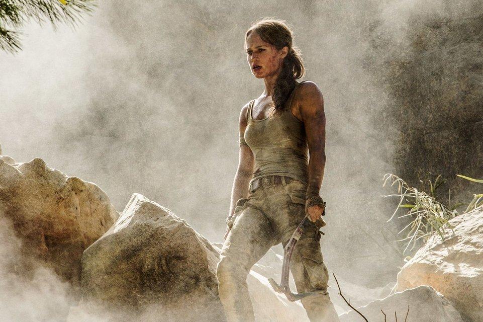 Tomb Raider: Лара Крофт: в сеть попал первый трейлер фильма с Алисией Викандер - фото 74871