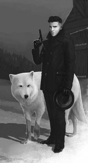 Игра престолов: Джон Сноу в стиле мира гангстеров - фото 72705