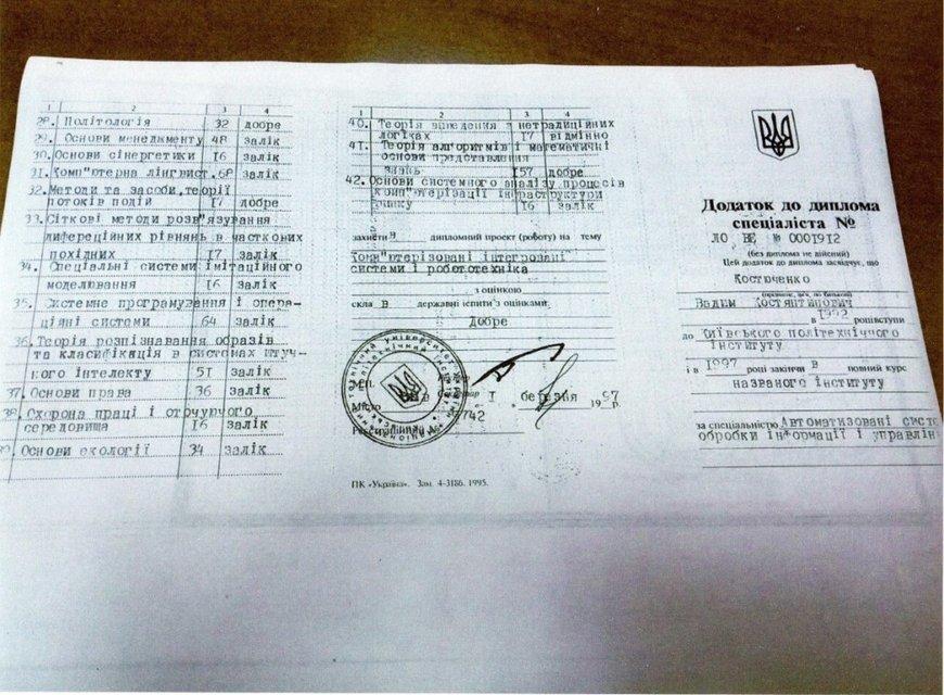 У вице-президента Федерации футбола оказался поддельный диплом - фото 73638