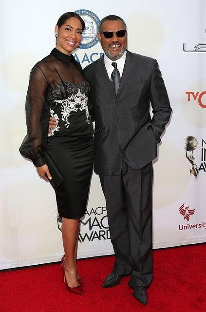 Лоуренс Фишборн и Джина Торрес разводятся после 14 лет брака - фото 75524