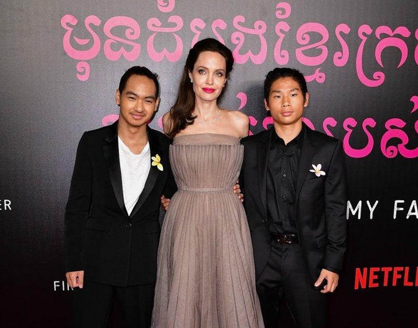 Анджелина Джоли постепенно приводит в порядок расшатанное здоровье - фото 75357