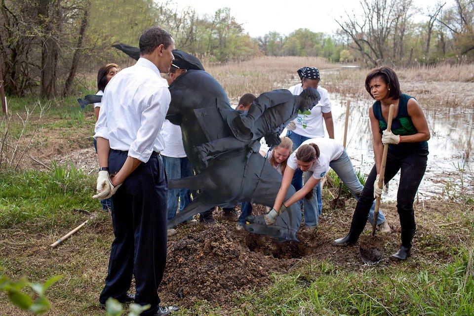 Решение проблемы с памятником Роберту Ли. Спасибо, Барак - фото 74997