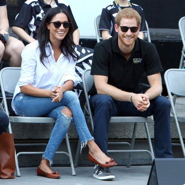 Меган Маркл и принц Гарри впервые вышли в свет как пара (фото) - фото 76466