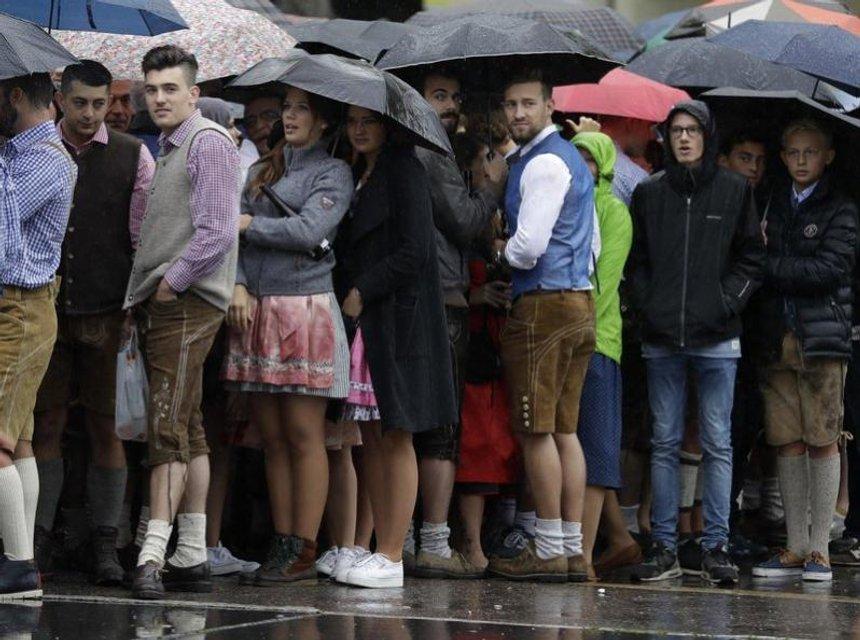 """В Мюнхене начался """"Oktoberfest"""" - фото 74460"""