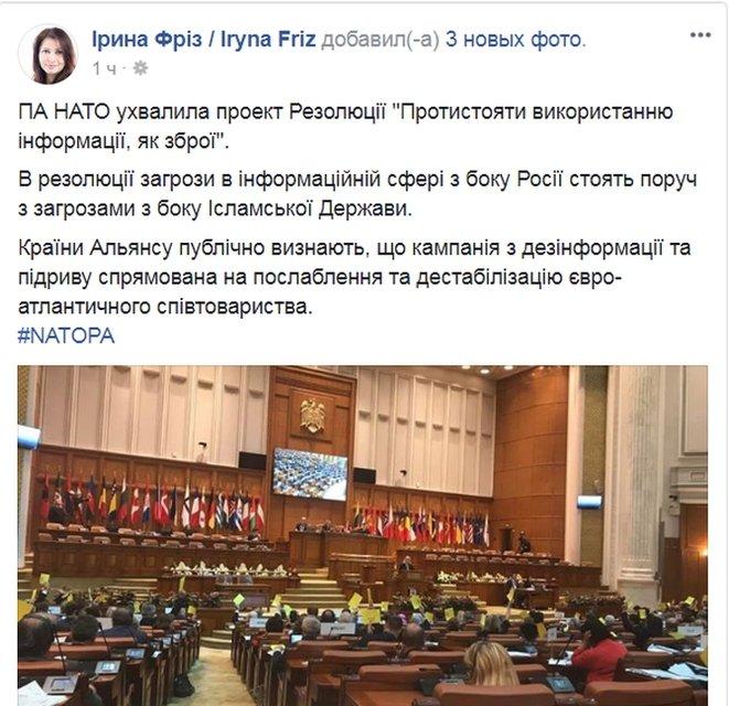 Парламентская ассамблея НАТО дала старт диалогу о членстве Украины в альянсе - фото 80003