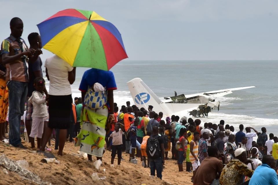 Авиакатастрофа в Кот-д'Ивуаре - фото 81657