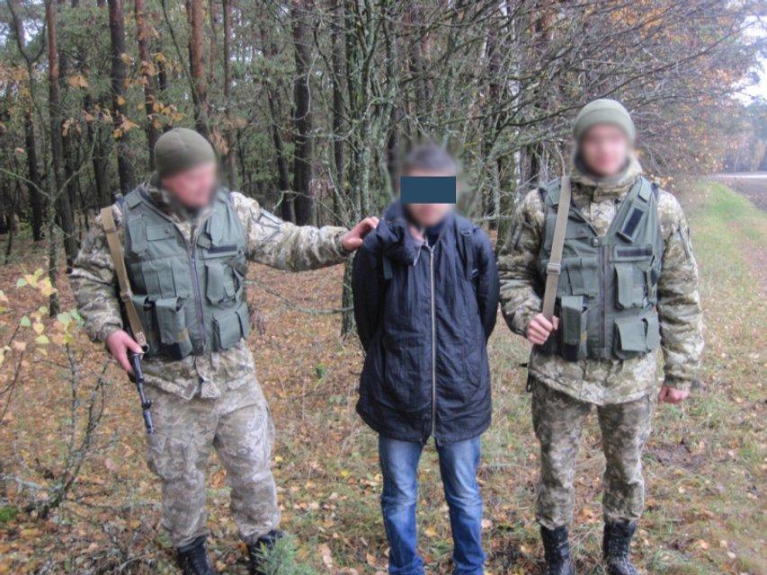 Мужчину задержали пограничники отдела «Леоновка» - фото 85542