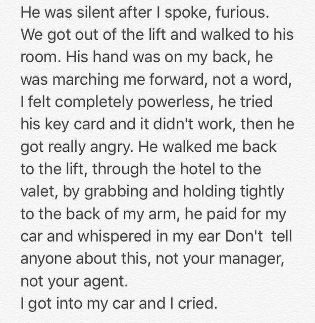 Звезда Игры престолов Лина Хиди  рассказала о домогательствах Харви Вайнштейна - фото 82325