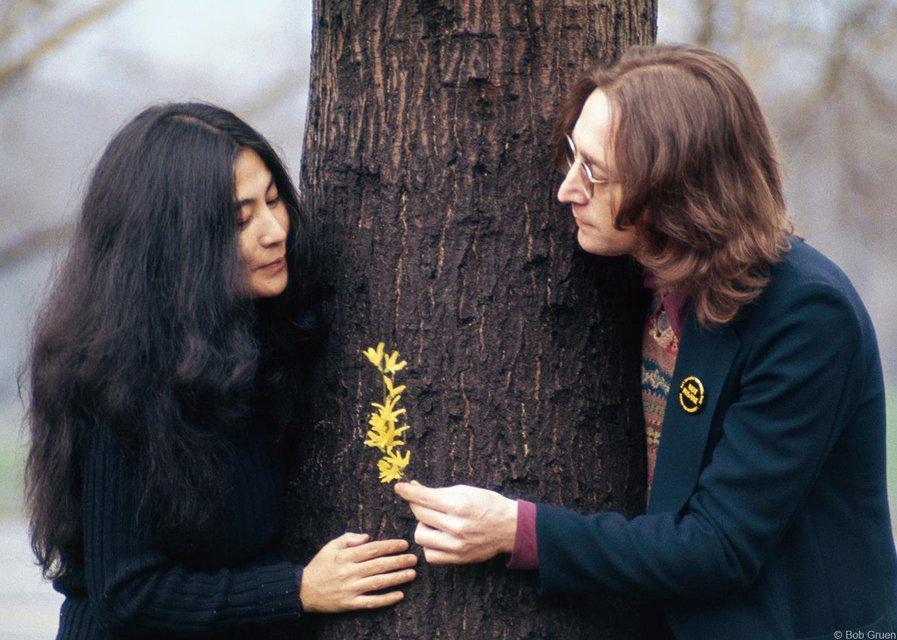 История любви Джона Леннона и Йоко Оно - одна душа на двоих и пять выстрелов в спину - фото 79823