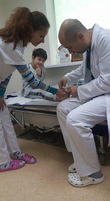 Сын Притулы попал в больницу после экстремального Дня рождения - фото 78355