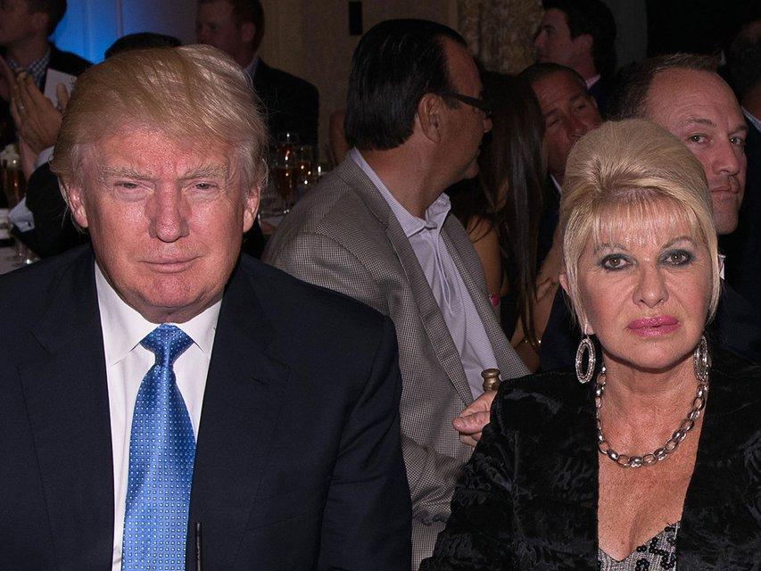 Дональд Трамп с первой женой - фото 79727