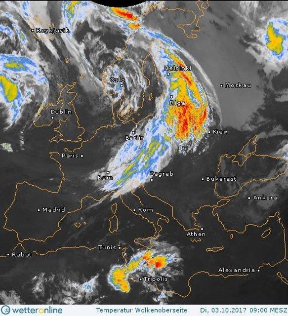 На Украину надвигаются дожди - фото 78294