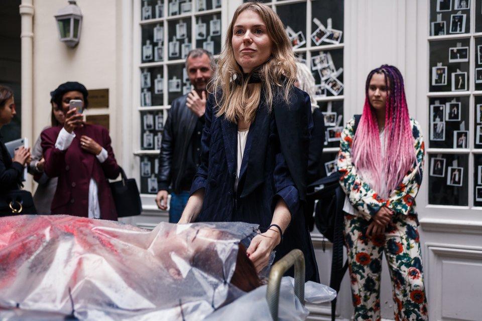 Лилия Литковская и Алан Бадоев произвели фурор на Парижской неделе моды - фото 78056