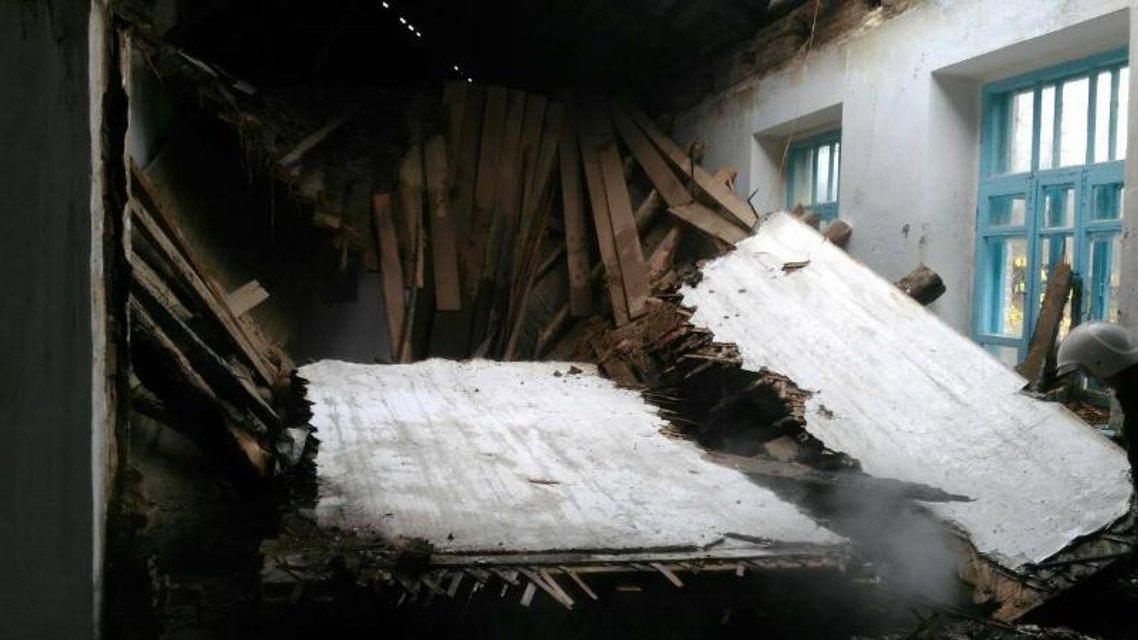 На Виниччине горела школа с детьми - фото 84164