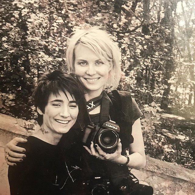 Рената Литвинова и Земфира - свадьба - фото 79120