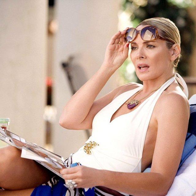 Ким Кэтролл в образе Саманты Джонс - фото 83920
