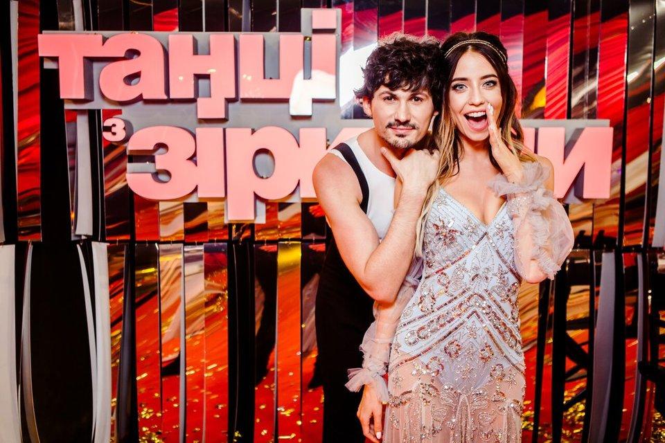 Танців з зірками 2017: Женя Кот и Надя Дорофеева - фото 83148